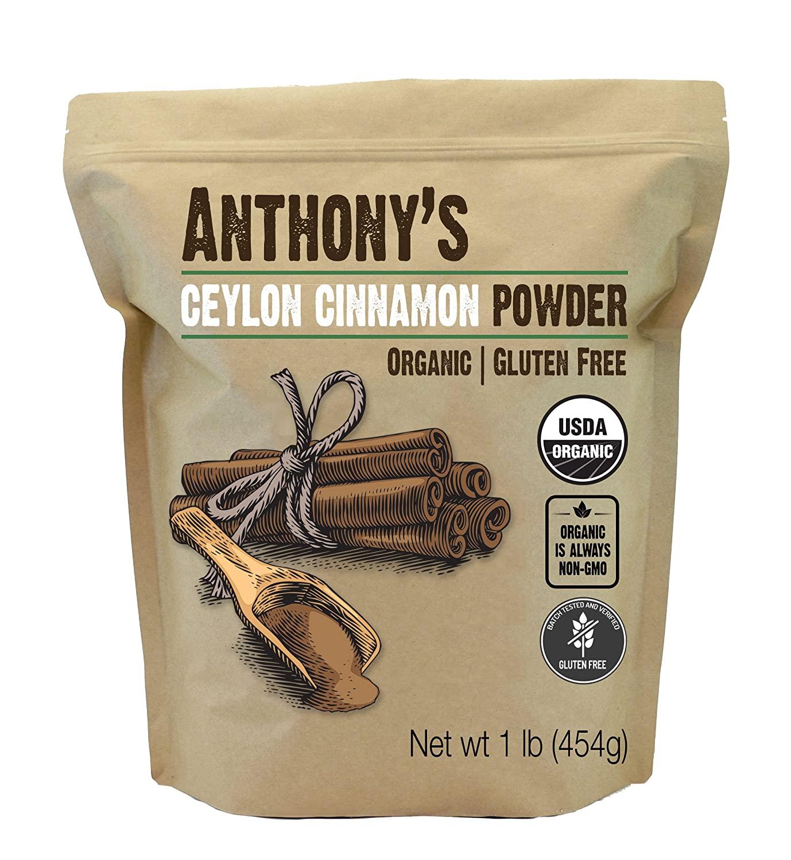 Anthony's Organisches Ceylon-Zimtpulver